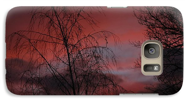 Galaxy Case featuring the photograph 2011 Sunset 1 by Paul SEQUENCE Ferguson             sequence dot net