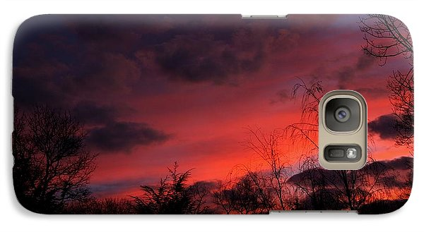 Galaxy Case featuring the photograph 2012 Sunrise In My Back Yard by Paul SEQUENCE Ferguson             sequence dot net