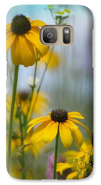 Galaxy Case featuring the photograph Wildflowers by France Laliberte