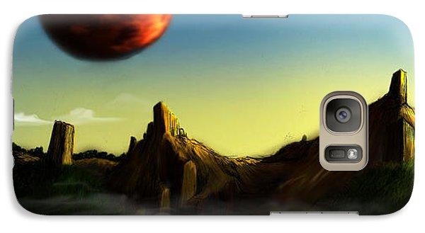 Galaxy Case featuring the digital art No Title  by Mariusz Zawadzki