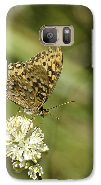 Galaxy Case featuring the photograph Butterfly by Betty Depee