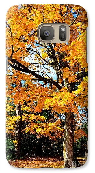 Galaxy Case featuring the photograph Tree Of Gold by Joe  Ng