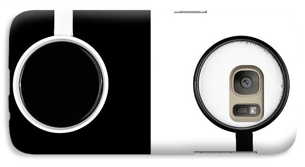 Galaxy Case featuring the photograph Yin And Yang by Gert Lavsen