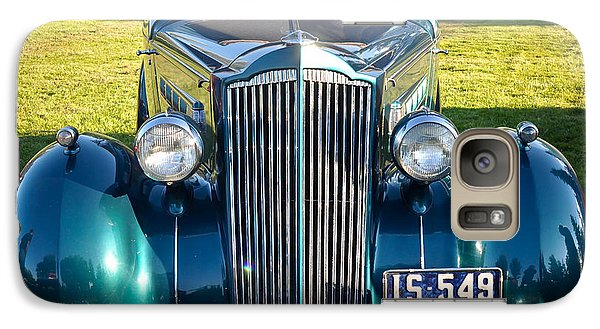 Galaxy Case featuring the photograph '35 Packard by Ronda Broatch