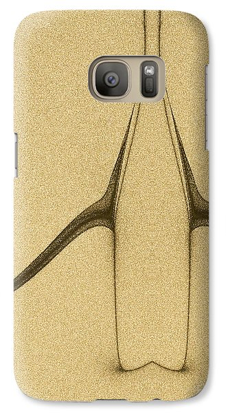 Galaxy Case featuring the digital art  Art Abstract by Odon Czintos