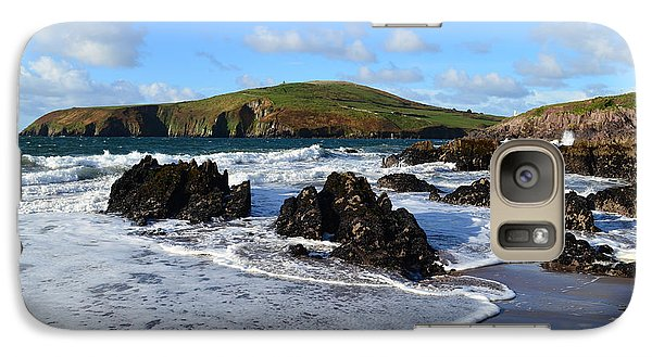 Galaxy Case featuring the photograph Beenbane Beach by Barbara Walsh