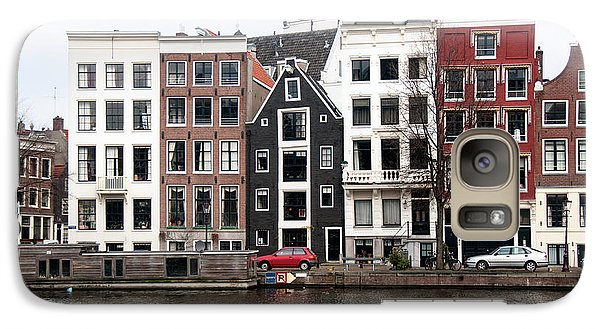 Galaxy Case featuring the digital art City Scenes From Amsterdam by Carol Ailles