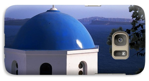 Galaxy Case featuring the photograph Santorini Greece by Colette V Hera  Guggenheim