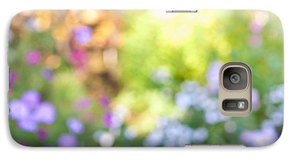Garden Galaxy S7 Case - Flower Garden In Sunshine by Elena Elisseeva