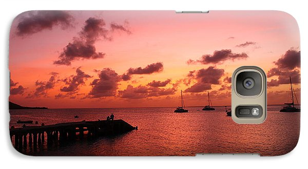 Galaxy Case featuring the photograph Sunset by Catie Canetti