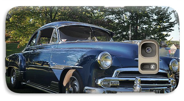 Galaxy Case featuring the photograph '51 Chevrolet by Ronda Broatch