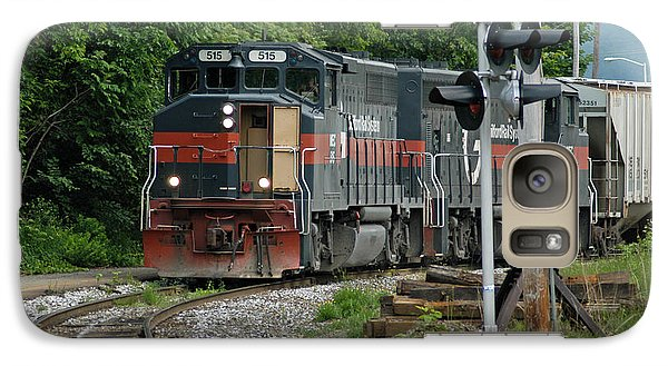 Galaxy Case featuring the photograph 515 Guilford Rail System by Mike Martin