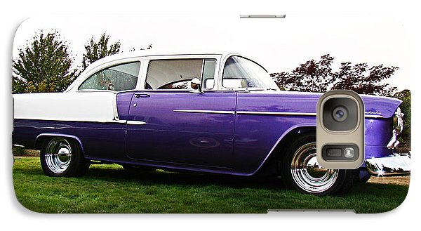 Galaxy Case featuring the photograph 55 Chevy by Nick Kloepping