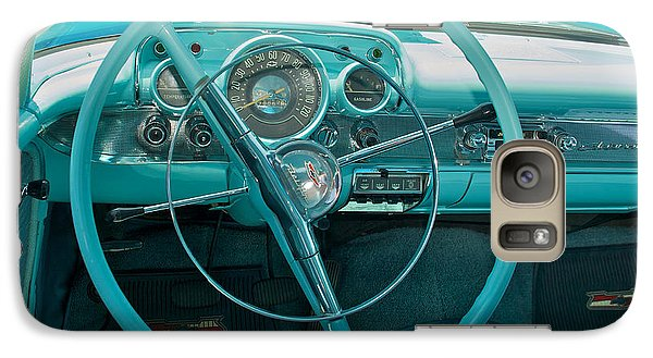 57 Chevy Bel Air Interior 2 Galaxy S7 Case