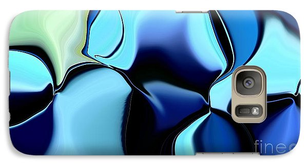 Galaxy Case featuring the digital art 57 Distortions 2 by Greg Moores
