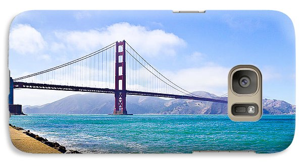 75 Years - Golden Gate - San Francisco Galaxy S7 Case