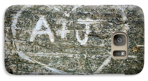 Galaxy Case featuring the photograph A And J by Julia Wilcox