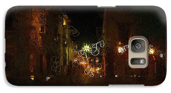 Galaxy Case featuring the photograph A Beautiful Evening In Centro by John  Kolenberg