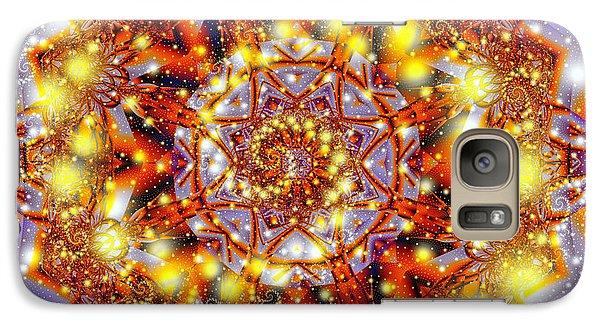 Galaxy Case featuring the digital art A Blaze Of Glory by Mario Carini