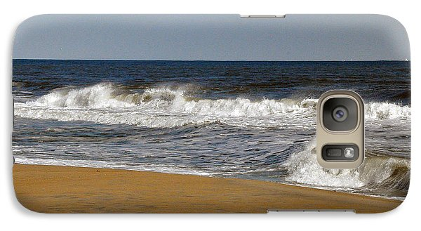 Galaxy Case featuring the photograph A Brisk Day by Sarah McKoy