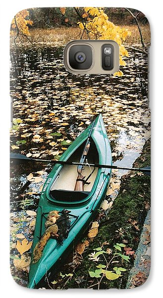 Galaxy Case featuring the photograph A Fall Harvest by Gerald Strine