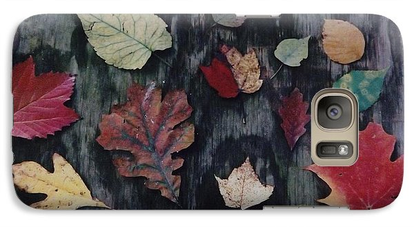 Galaxy Case featuring the photograph A Fall Of Color by Gerald Strine