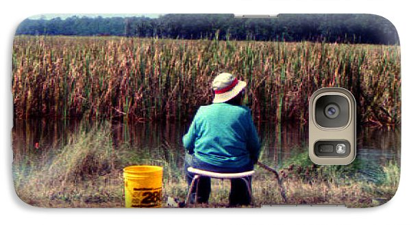 Galaxy Case featuring the photograph A Great Day Fishing by Patricia Greer