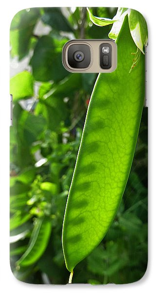 Galaxy Case featuring the photograph A Green Womb by Steve Taylor