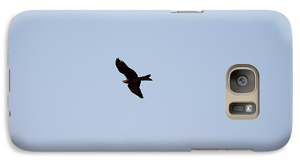 Galaxy Case featuring the photograph A Kite Flying High In The Sky by Ashish Agarwal