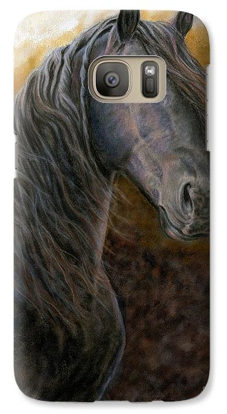 Galaxy Case featuring the painting A Natural Beauty by Sheri Gordon