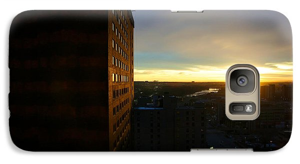 Galaxy Case featuring the photograph A New Day Begins Calgary Alberta by JM Photography