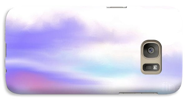 Galaxy Case featuring the painting A New Day by Lori  Lovetere