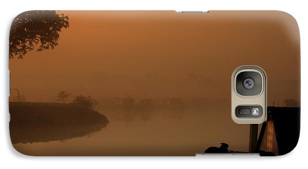 Galaxy Case featuring the photograph A Nice Place by Linsey Williams