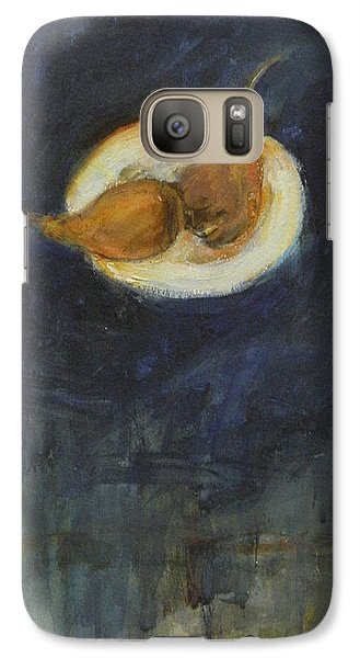 Galaxy Case featuring the painting A Pair by Kathleen Grace