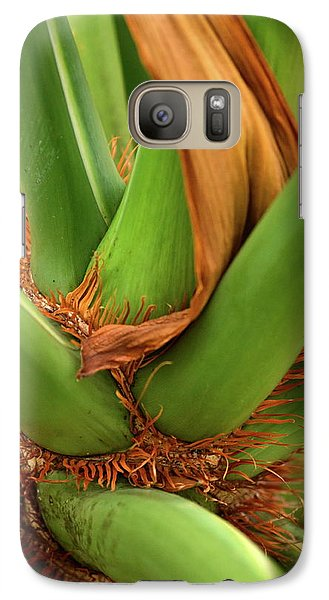 Galaxy Case featuring the photograph A Palmetto's Elbows by JD Grimes