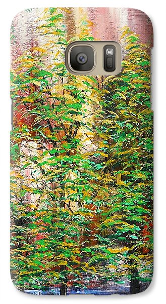 Galaxy Case featuring the painting A Peaceful Place by Dan Whittemore