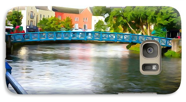 Galaxy Case featuring the photograph A River Runs Through It by Charlie and Norma Brock