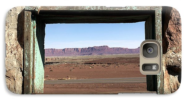 Galaxy Case featuring the photograph A Room With A View by Karen Lee Ensley