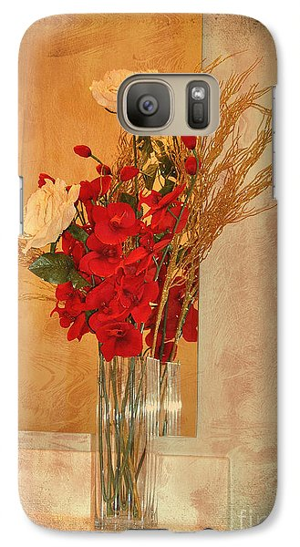 Galaxy Case featuring the photograph A Rose By Any Other Name by Kathy Baccari