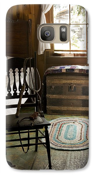 Galaxy Case featuring the photograph A Simpler Life by Lynn Palmer