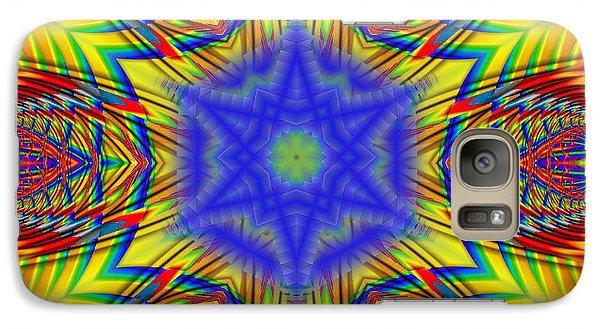 Galaxy Case featuring the digital art A Star Reborn by Mario Carini