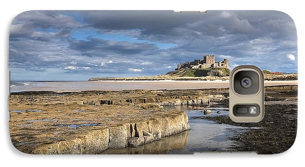 Galaxy Case featuring the photograph A View Of Bamburgh Castle Bamburgh by John Short