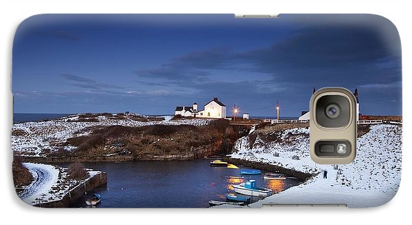 Galaxy Case featuring the photograph A Village On The Coast Seaton Sluice by John Short