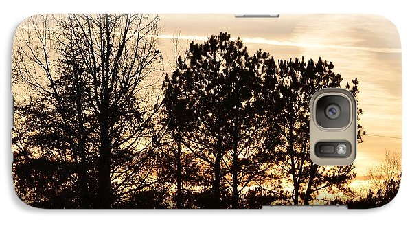 Galaxy Case featuring the photograph A Winter's Eve by Maria Urso