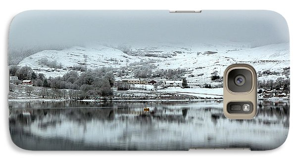 Galaxy Case featuring the photograph A Winter's Scene by Lynn Bolt