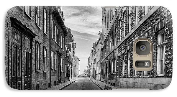 Galaxy Case featuring the photograph Abandoned Street by Eunice Gibb