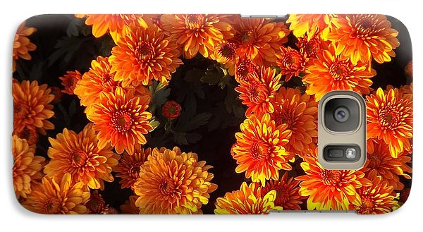 Galaxy Case featuring the photograph Ablaze by Elizabeth Sullivan