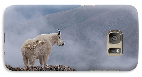 Galaxy Case featuring the photograph Above The Clouds by Jim Garrison