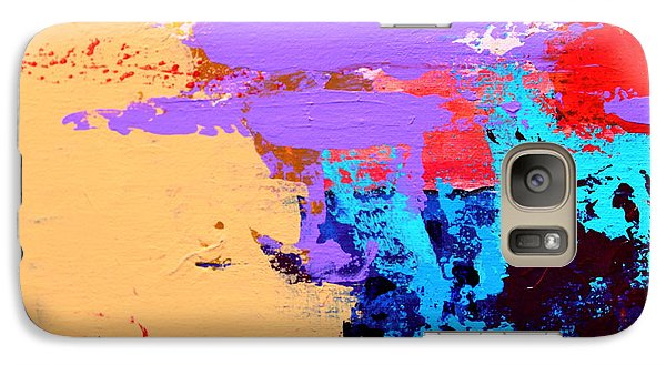 Galaxy Case featuring the painting Abstract 1 by M Diane Bonaparte