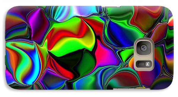 Galaxy Case featuring the digital art Abstract Colors 2 by Greg Moores